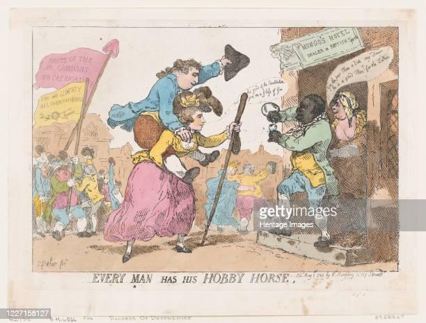 Every Man Has His Hobby Horse, May 1, 1784. Artist Thomas Rowlandson.