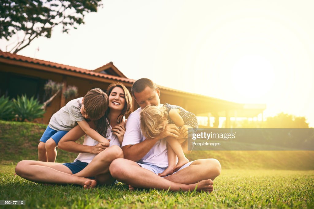 Every moment spent together is absolute bliss : Stock Photo