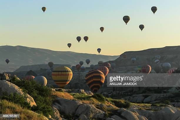 Every morning, the hundred hot air balloons will take tourist over Cappadocia area. It take approximately 1 hours for the tour. Cappadocia is a...