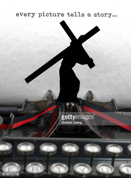 every picture has a story - stations of the cross stock pictures, royalty-free photos & images
