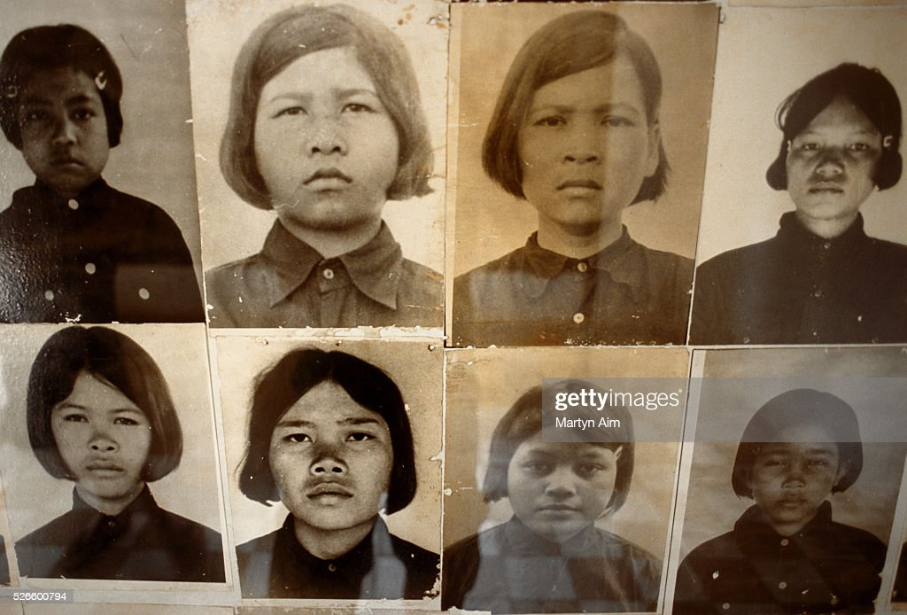 Every prisoner who entered Tuol Sleng was photographed and an individual file created, the same practice as during the genocide in Nazi Germany.