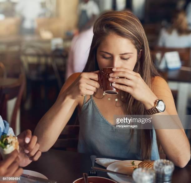 Elke sip is een zachte streling