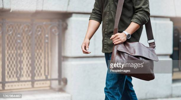 every step forward brings you closer to success - shoulder bag stock pictures, royalty-free photos & images