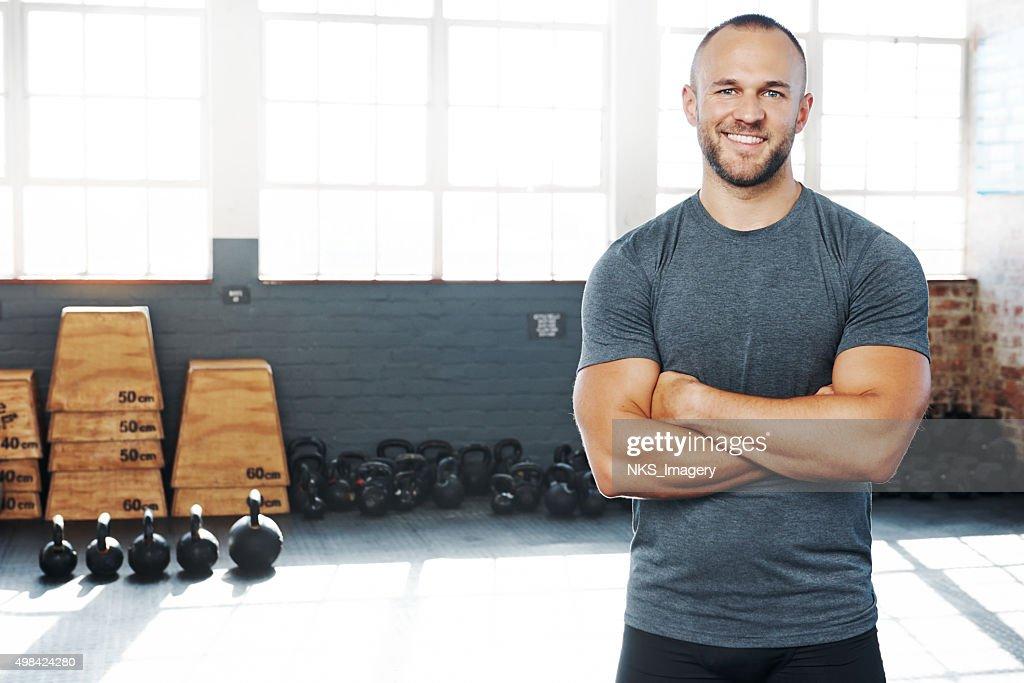 Jede Trainingseinheit zählt : Stock-Foto