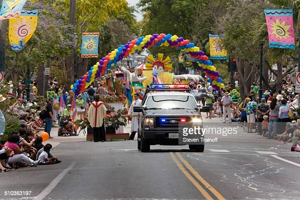 Every year Santa Barbara celebrates the Summer Solstice with a parade It is exuberant with lots of local charm