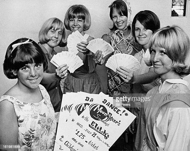 JUL 8 1965 JUL 9 1965 Everybody Dance for Clinic Some 150 girls from Denver metropolitan area have been enlisted to help push a benefit dance to help...