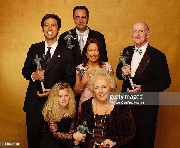 'Everybody Loves Raymond' cast members during Ninth Annual Screen Actors Guild Awards Gallery at The Shrine Auditorium in Los Angeles California...