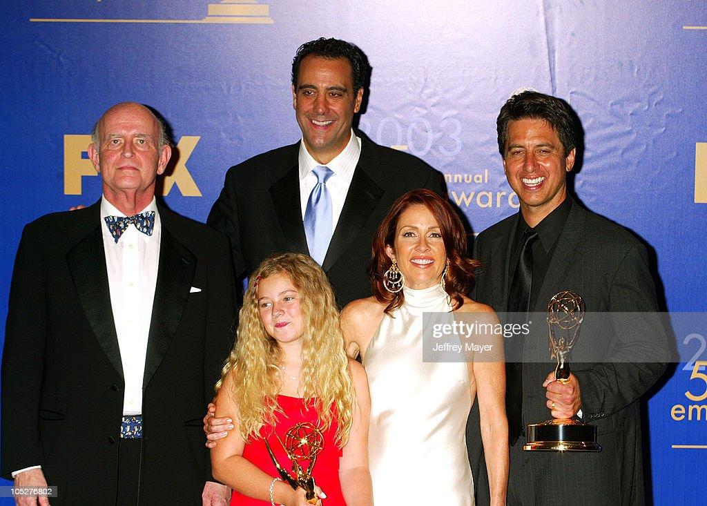 The 55th Annual Primetime Emmy Awards - Press Room : News Photo