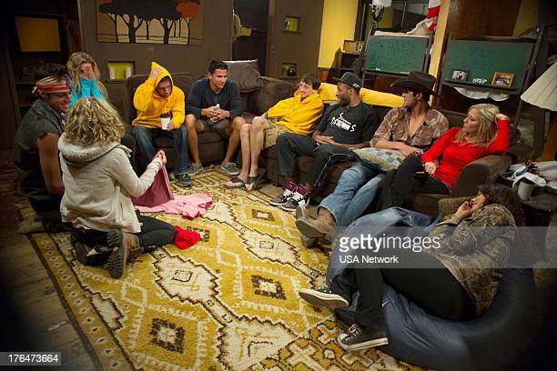 CAMP Everybody Really Hates Chris Episode 107 Pictured Kyle Kleiboeker Rachel Spalding Brooke Magnum Mikey Benzaia Moises Ramos Chuck Lines Chris...