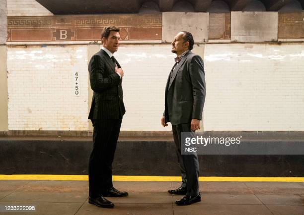 """Everybody Takes A Beating Sometime"""" Episode 107 -- Pictured: Dylan McDermott as Richard Wheatley, Ivo Nandi as Gianluca Silvano --"""