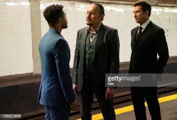 """Everybody Takes A Beating Sometime"""" Episode 107 -- Pictured: Ivo Nandi as Gianluca Silvano, Dylan McDermott as Richard Wheatley --"""