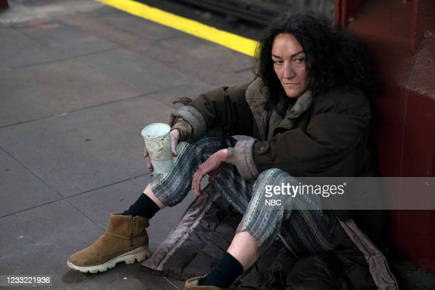 """Everybody Takes A Beating Sometime"""" Episode 107 -- Pictured: Jennifer McCabe as UC Panhandler --"""