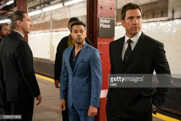 """Everybody Takes A Beating Sometime"""" Episode 107 -- Pictured: Nick Creegan as Richie Wheatley, Dylan McDermott as Richard Wheatley --"""