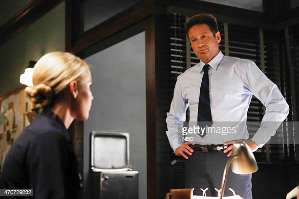 AQUARIUS 'Everybody's Been Burned' Episode 101 Pictured Claire Holt as Charmain Tully David Duchovny as Sam Hodiak