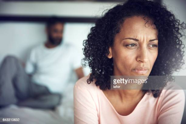 everyday her heart breaks a little more - couple arguing stock photos and pictures