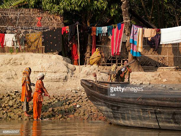 everyday life in bangladesh - khulna stock photos and pictures