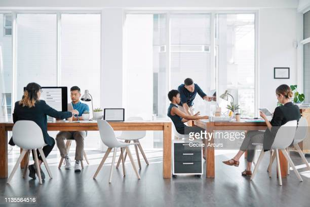 everyone has their part to play - office stock pictures, royalty-free photos & images