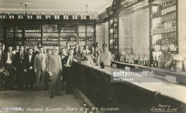 Everyone Knows Sloppy Joe's Bar at Havana', circa 1950s. The world-famous Sloppy Joe's at Havana in Cuba welcomed tourists for over four decades, and...