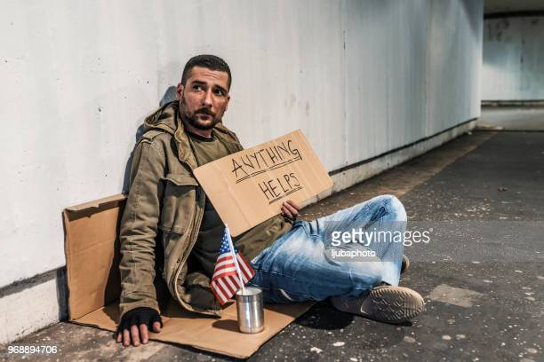 everyone needs a bit of help - homeless stock photos and pictures