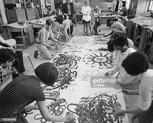 MAR 30 1968 APR 2 1968 APR 3 1968 SEP 10 1970 SEP 13 1970 Everything Else Is 'In' These DaysWhy Students in Charles Ott's experimental art...