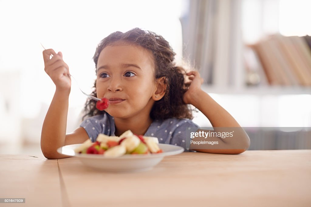 Everything good for a growing child : Stock Photo