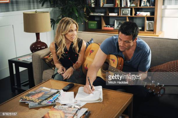 TOWN Everything Man Grayson introduces girlfriend Sara to Jules and company on Walt Disney Television via Getty Images's Cougar Town WEDNESDAY MARCH...