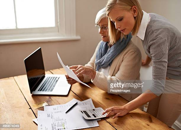 everything should work out fine now - grandma invoice stock pictures, royalty-free photos & images