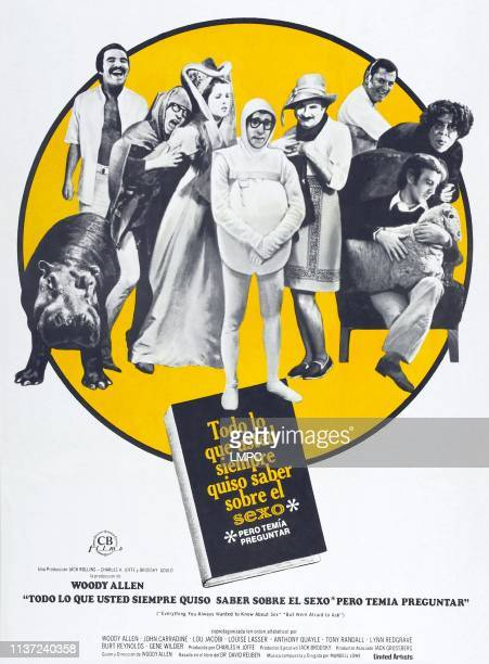 Everything You Always Wanted To Know About Sex But Were Afraid To Ask poster Spanish poster lr Burt Reynolds Woody Allen Lynn Redgrave Woody Allen...