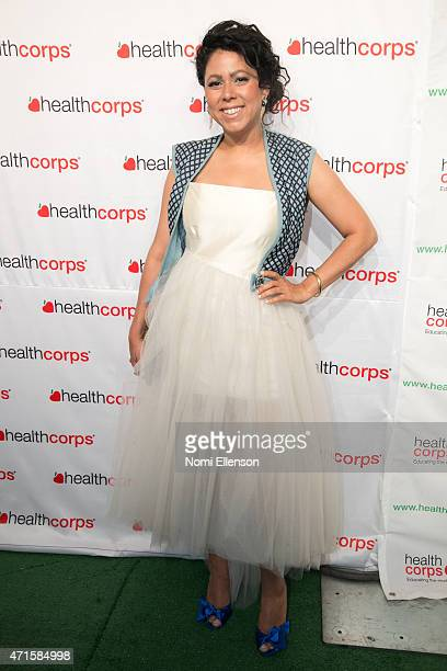 Evette Rios attends the 9th Annual HealthCorps' Gala at Cipriani Wall Street on April 29 2015 in New York City