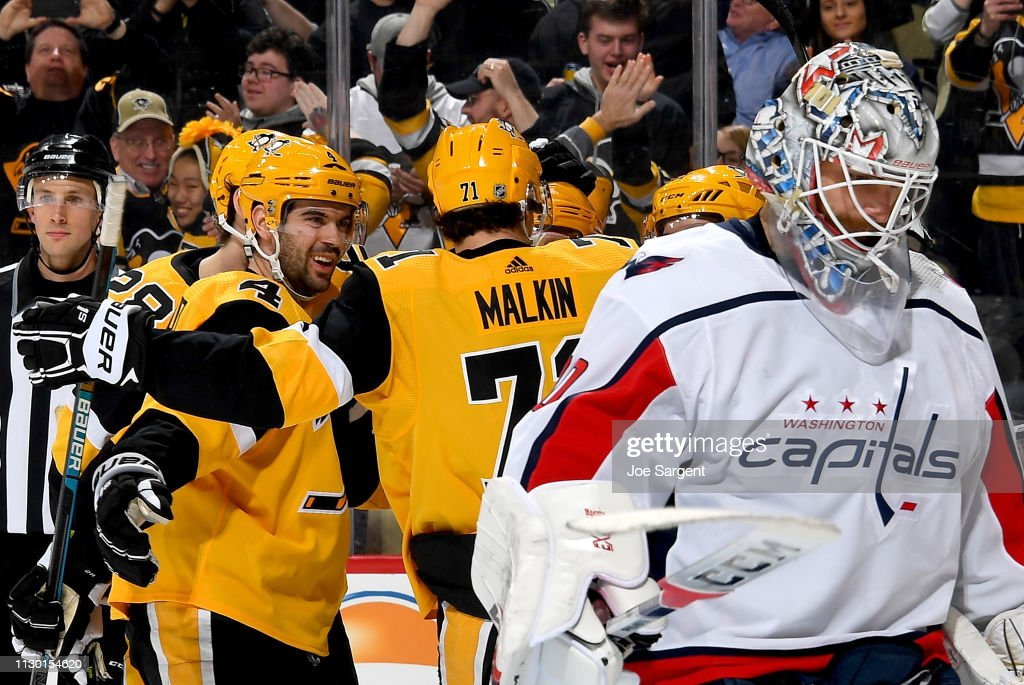 Washington Capitals v Pittsburgh Penguins : News Photo