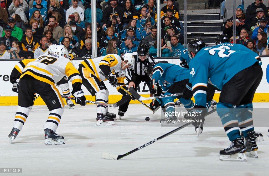 Pittsburgh Penguins v San Jose Sharks : News Photo