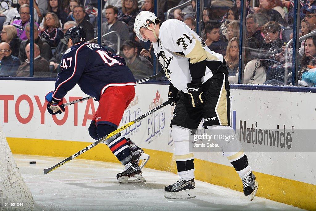 Pittsburgh Penguins v Columbus Blue Jackets