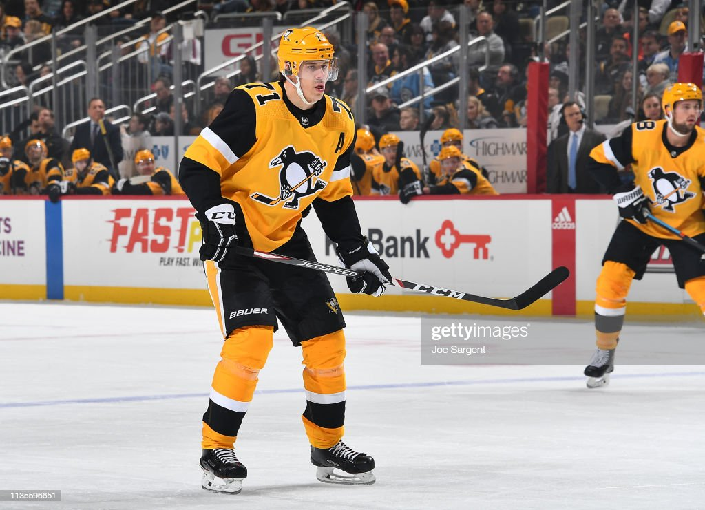 Columbus Blue Jackets v Pittsburgh Penguins : Nachrichtenfoto