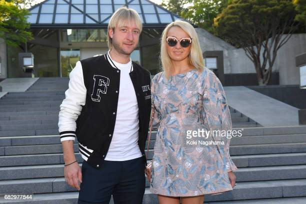 Evgeni Plushenko attends the Louis Vuitton Resort 2018 show at the Miho Museum on May 14 2017 in Koka Japan