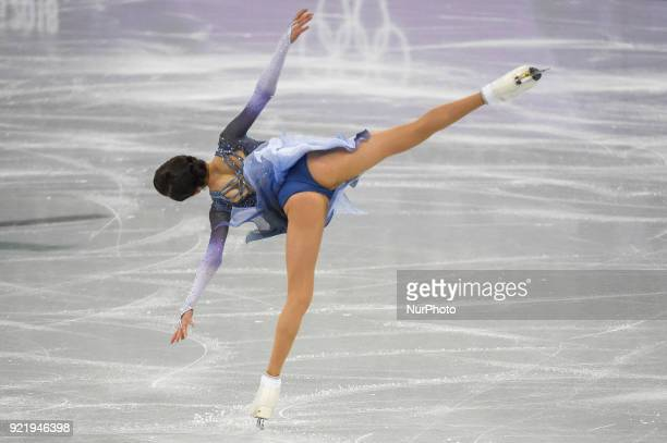Evgenia Medvedeva of  Russia competing in free dance at Gangneung Ice Arena Gangneung South Korea on February 21 2018