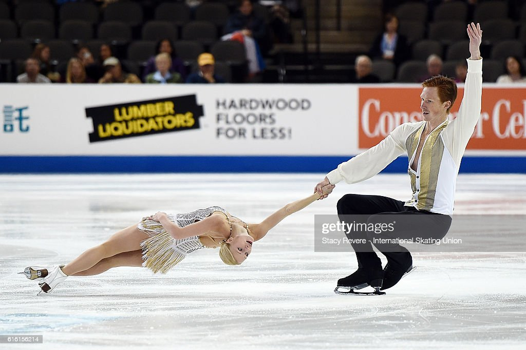 ISU Grand Prix of Figure Skating - Chicago Day 1 : News Photo