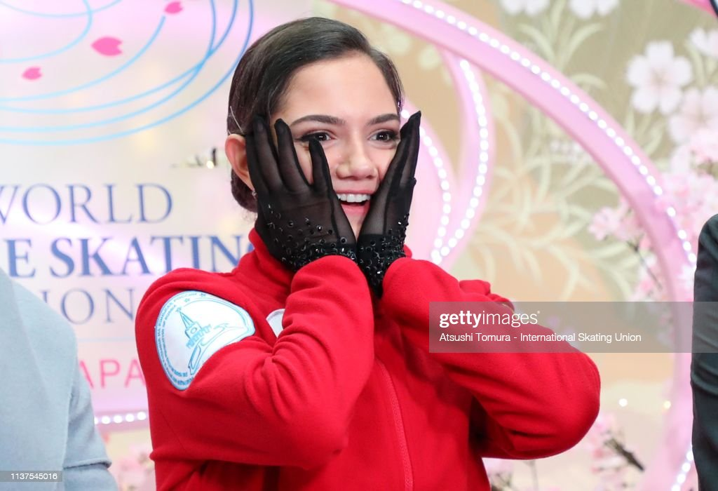 https://media.gettyimages.com/photos/evgeniamedvedeva-of-russia-celebrates-her-score-at-the-kiss-and-cry-picture-id1137545016