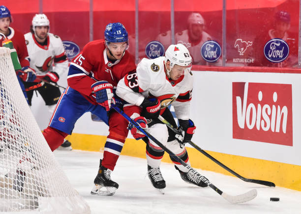 CAN: Ottawa Senators v Montreal Canadiens