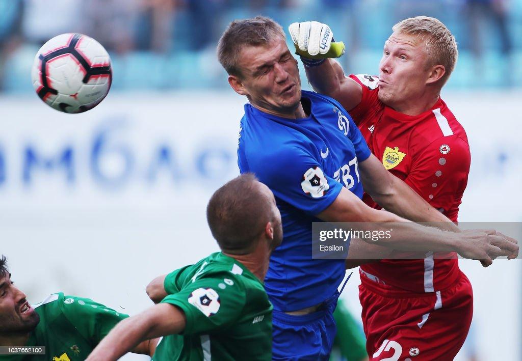 FC Dinamo Moscow vs FC Anji Makhachkala - Russian Premier League