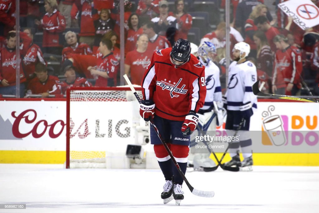 Tampa Bay Lightning v Washington Capitals - Game Three : News Photo