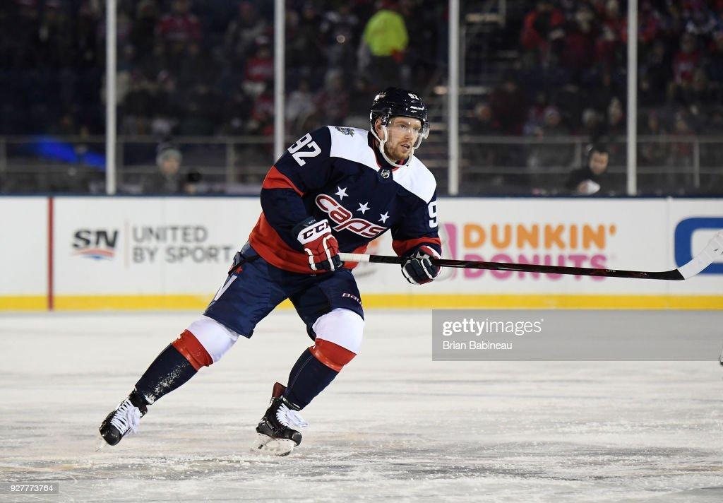 super popular 58f09 9e5ad Evgeny Kuznetsov of the Washington Capitals skates during ...
