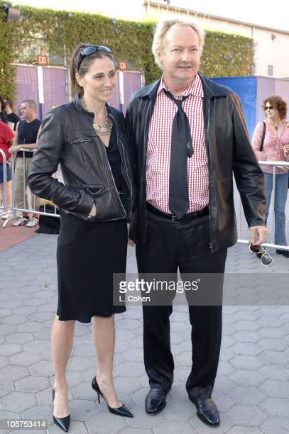 Evi Quaid and Randy Quaid during Cinderella Man Los Angeles Premiere Red Carpet at Gibson Amphitheatre in Universal City California United States