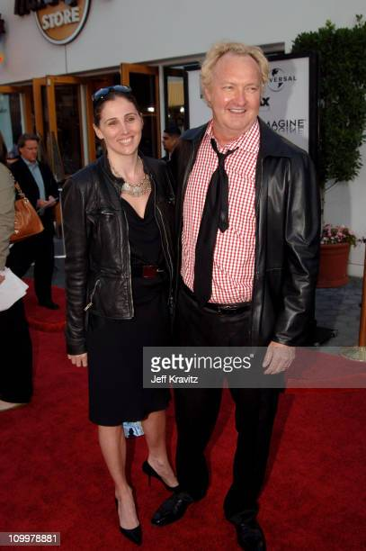 Evi Quaid and Randy Quaid during Cinderella Man Los Angeles Premiere at Gibsob Amphitheater in Universal City California United States