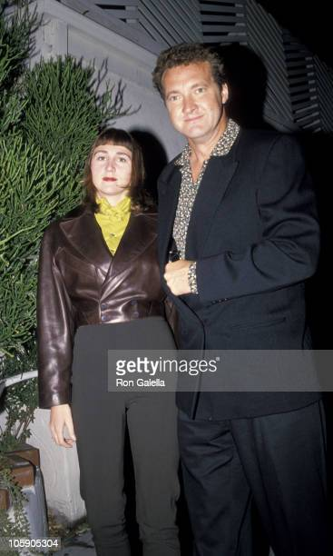 Evi Quaid and Randy Quaid during Randy Quaid Sighted at Spago's Restaurant October 27 1988 at Spago's Restaurant in West Hollywood California United...