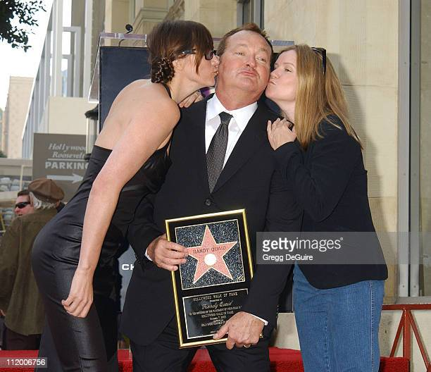 Evi Quaid Randy Quaid and Mare Winningham during Randy Quaid Honored With A Star On The Hollywood Walk Of Fame at Hollywood Blvd in Hollywood...