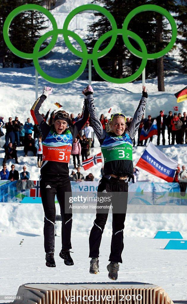 Cross-Country Skiing - Ladies Team Sprint - Day 11 : News Photo