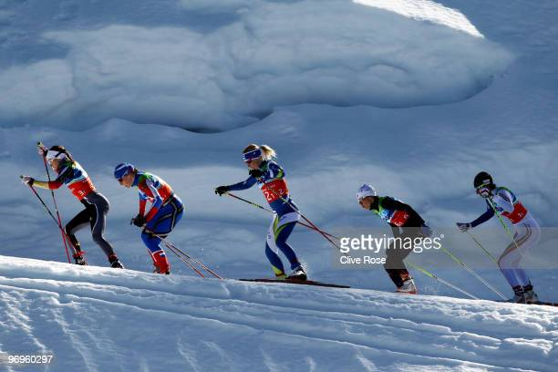 Evi SachenbacherStehle of Germany Irina Khazova of Russia RiittaLiisa Roponen of Finland Karine Laurent Philippot of France and Magda Genuin of Italy...