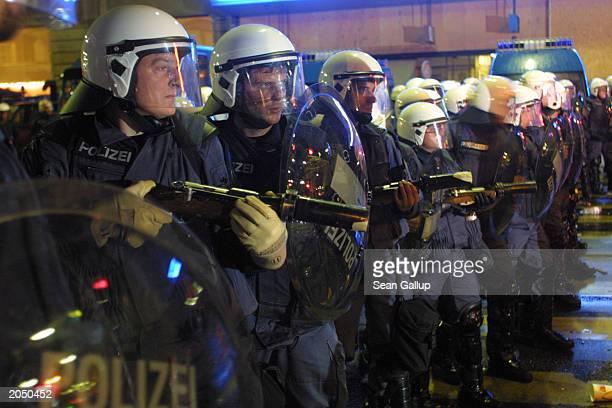 Evian G8 Summit Protests In Geneva