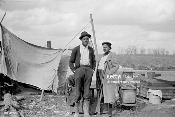 Evicted Sharecroppers Along Highway 60 New Madrid County Missouri USA Arthur Rothstein for Farm Security Administration January 1939