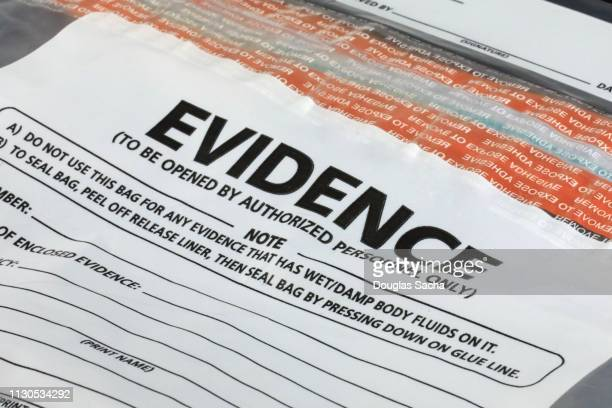 evidence container for crime scene investigation - criminal investigation stock pictures, royalty-free photos & images